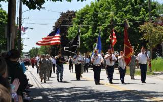 Veterans in Parade